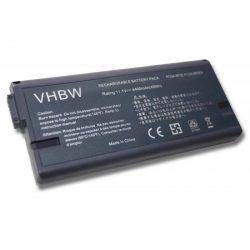 Sony PCGA-BP2E Laptop akkumulátor - 4400mAh (11.1V Fekete)
