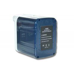 Makita B2417 akkumulátor - 3000mAh (24V)