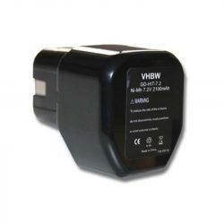 Hitachi EB712S akkumulátor - 2100mAh (7.2V)