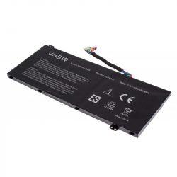 Acer AC14A8L, AC14A8L(3ICP7/61/80), AC15B7L, KT.0030G.001 Laptop akkumulátor - 4600mAh (11.4V Fekete)
