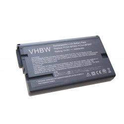 Sony Vaio PCG-NV55BP, PCG-NV77BP Laptop akkumulátor - 4400mAh (14.8V Fekete)