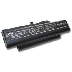 Sony Vaio VGN-TX16TP, VGN-TX17C/B Laptop akkumulátor - 11000mAh (7.4V Fekete)