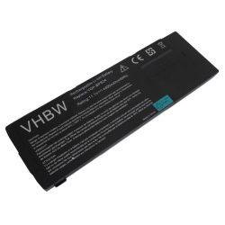 Sony Vaio VPC-SB16FH/W, VPC-SB16FW/B Laptop akkumulátor - 4400mAh (11.1V Fekete)