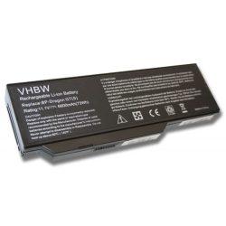 ZooStorm 441810400003, 4418107800002 Laptop akkumulátor - 6600mAh (11.1V Fekete)
