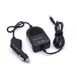 HP Compaq P/N 391173-001(12 V, Fekete) Autós töltő kábel