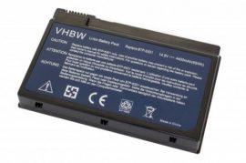 Acer Aspire 3000 Laptop akkumulátor - 4400mAh (14.8V Fekete)