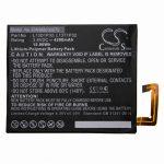 Lenovo Tab 2 A8-50 tablet akkumulátor - 4200mAh