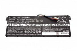 Acer Aspire ES15, R3, R5 Laptop akkumulátor - 3200mAh (15.2V Fekete)