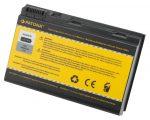 Acer Extensa 5120, 5210, 5220, 5420 Laptop akkumulátor - 4400mAh (14.8V Fekete)