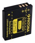 Panasonic CGA-S005 / DMW-BCC12 akkumulátor - 1000mAh (3.7V)