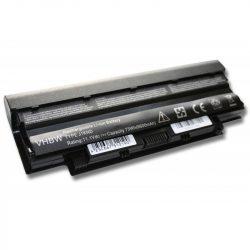 Dell Inspiron 13R, 14R, 15R Laptop akkumulátor - 6600mAh (11.1V Fekete)
