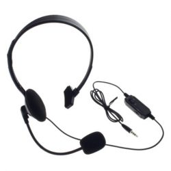 Sony Playstation 4 / PS4 / PS5 / Xbox One mikrofonos headset fejhallgató