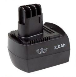 Metabo BSZ 12 / SSP 12 akkumulátor - 2000mAh (12V)