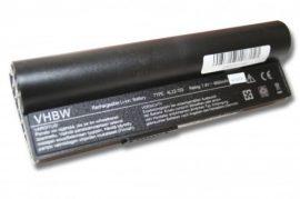 ASUS EEE PC 900a fekete Laptop akkumulátor - 6600mAh (7.4V Fekete)