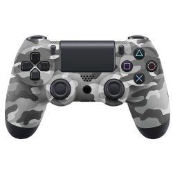 Playstation 4, PS4 wireless / vezeték nélküli kontroller - military szürke