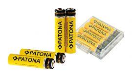 Patona AAA újratölthető ceruza elem tároló dobozzal (900 mAh)