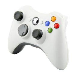 Xbox 360 wireless / vezeték nélküli kontroller - fehér
