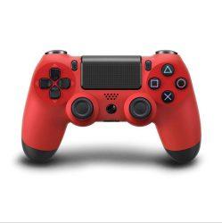 Playstation 4, PS4 wireless / vezeték nélküli kontroller - piros