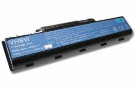 Acer Aspire 4732 Laptop akkumulátor - 4400mAh (11.1V Fekete)