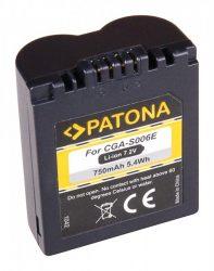 Panasonic Lumix FZ8 / FZ18 / FZ28 / FZ30 / FZ35 akkumulátor - 800mAh (7.4V)