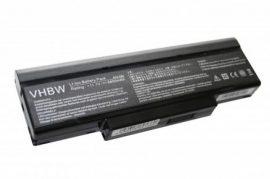 ASUS A9 Laptop akkumulátor - 6600mAh (11.1V Fekete)