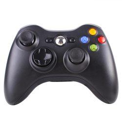 Xbox 360 wireless / vezeték nélküli kontroller - fekete