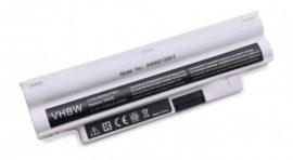 Dell Inspiron Mini 1012, 1018 Laptop akkumulátor - 4400mAh (11.1V Fehér)