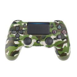 Playstation 4, PS4 wireless / vezeték nélküli kontroller - military zöld