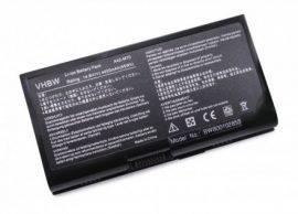 Asus A41-M70 / A42-M70 Laptop akkumulátor - 4400mAh (14.8V Fekete)