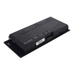 Dell Precision M4600, M4700, M6600 Laptop akkumulátor - 4400mAh (11.1V Fekete)
