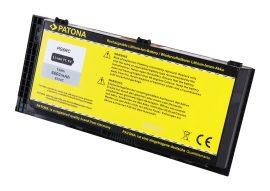 Dell Precision M4600, M4700, M6600 Laptop akkumulátor - 6600mAh (11.1V Fekete)
