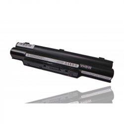 Fujitsu-Siemens Lifebook S7110 Laptop akkumulátor - 4400mAh (10.8V fekete)