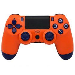 Playstation 4, PS4 wireless / vezeték nélküli kontroller - narancs sárga