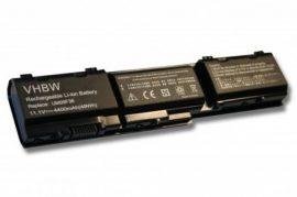 Acer Aspire 1820 Laptop akkumulátor - 4400mAh (11.1V Fekete)