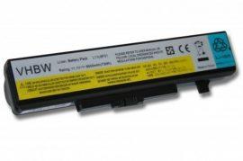 Lenovo Ideapad Y480 Laptop akkumulátor - 6600mAh (11.1V Fekete)