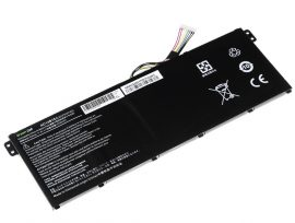 Acer AC14B13J, AC14B13K Laptop akkumulátor - 2100mAh (11.4V Fekete)