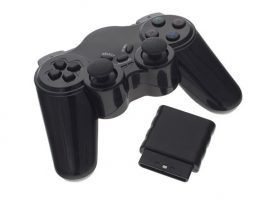 Wireless Playstation 2 / PS2 Kontroller - fekete
