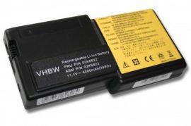 IBM Thinkpad R30 / R31 Laptop akkumulátor - 4400mAh (11.1V Fekete)