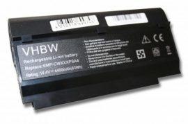 Fujitsu-Siemens Amilo Mini Laptop akkumulátor - 4400mAh (14.4V Fekete)