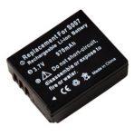 Panasonic Lumix DMC-TZ5 / DMC-TZ4 akkumulátor - 970mAh (3.7V)
