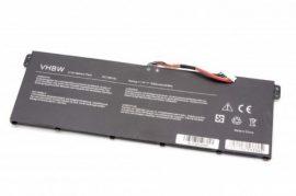 Acer Aspire E11, E15, V3, V5-132, E5 Laptop akkumulátor - 3000mAh (11.4V Fekete)