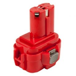 Makita DA302D, DA312D, DA392D akkumulátor - 2500mAh (9.6V)
