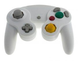 Nintendo Wii / Nintendo GameCube Controller / Gamepad - fehér