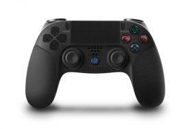 Playstation 4, PS4 wireless / vezeték nélküli kontroller - fekete