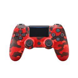 Playstation 4, PS4 wireless / vezeték nélküli kontroller - fekete / piros